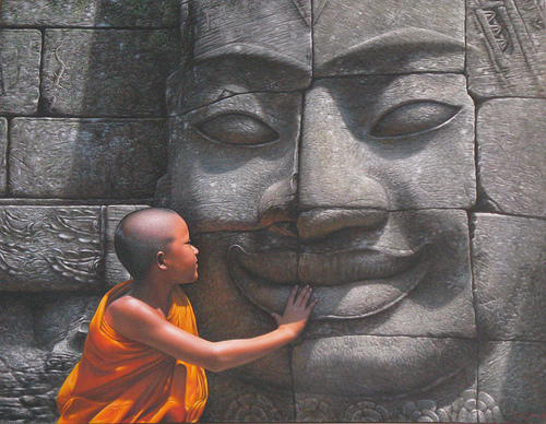 The Buddha smiled for no reason. So can you.